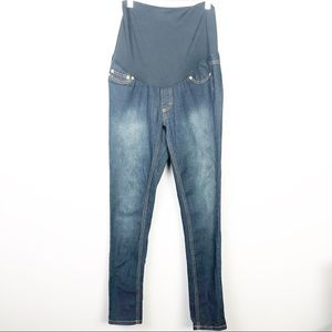 Oh Mamma Skinny Maternity Jeans